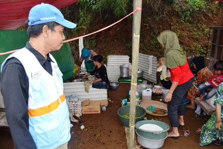 Bantuan Banjir Bandang di Malangbong, Garut 22 September 2016