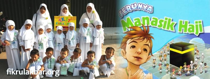 Manasik Haji Siswa Siswi TK Khas Fikrul Akbar