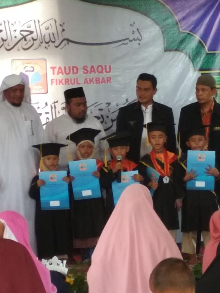 Acara Wisuda Dan Open House Taud Saqu Fikrul Akbar