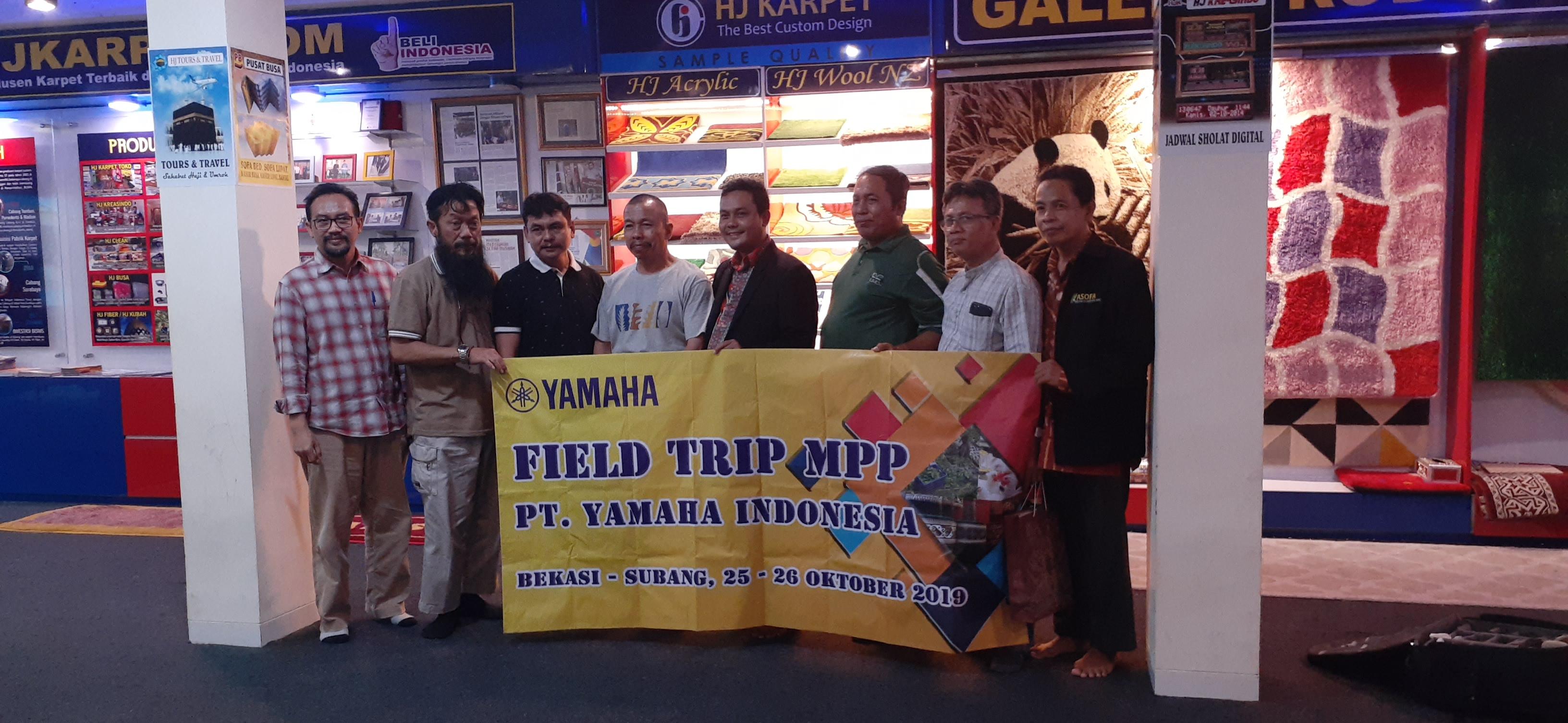 MPP(Masa Persiapan Pensiun) Kunjungan PT.Yamaha Indonesia Ke PT.Hernandhi Jaya Karpet