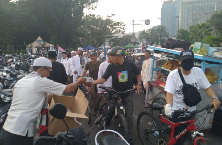 Logistik 212 Sudah Tersalurkan Dari Keluarga Besar Yayasan Fikrul Akbar