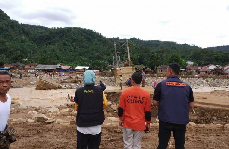 Donasi & Distribusi Korban Banjir Di Lebak Banten