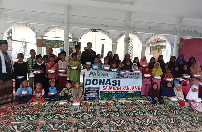 Santunan Anak Anak Yatim Di Masjid Al-Furqon Pakis Jaya